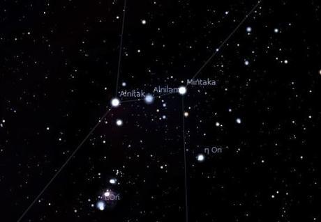 La evolución de la constelación de Orión en 450.000 años