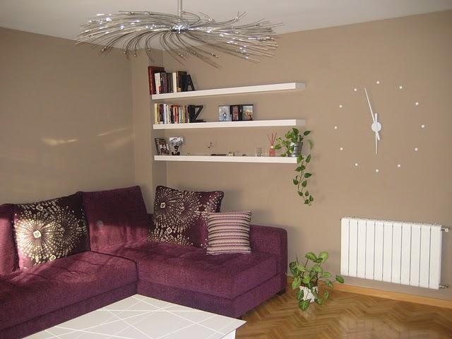 Salon nuevo que muebles compro y como lo pinto decorar - Colores salones modernos ...
