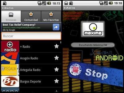 ESRadios, aplicación para escuchar tu emisora favorita en Internet