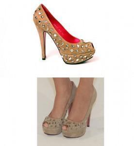 zapatos sara 276x300 El estilo casual chic de Sara carbonero