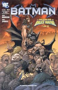 El Regreso de Bruce Wayne #1