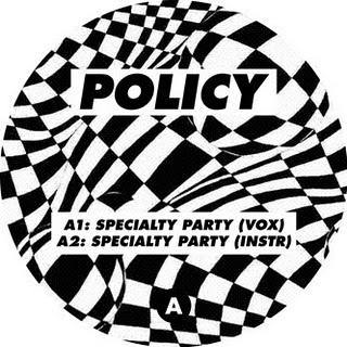 Policy : Speciality Party (Rush Hour,2011) & Mix for sub fm