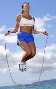 Saltar a la comba, un ejercicio aeróbico muy saludable