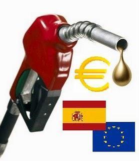 Comparativa de precios de carburantes entre España y resto de Europa