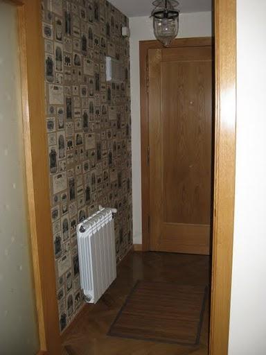 T preguntas c mo reemplazar el papel pintado de la pared - Como colocar papel pintado en la pared ...