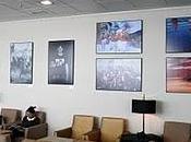 Anxo Cabada expone fotografías sobre Galicia Aeropuerto Madrid-Barajas