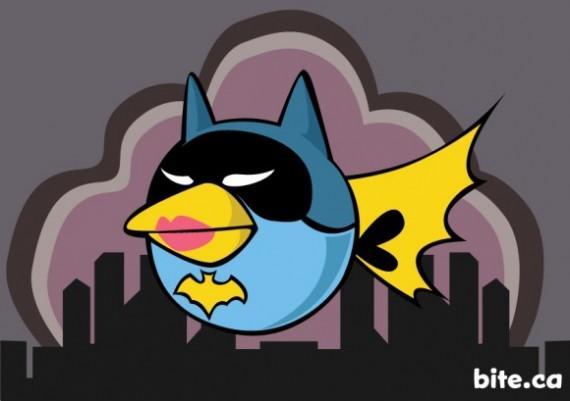 ¿Y si los Angry Birds fueran personajes de Batman?