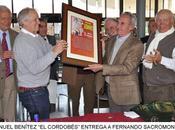 Córdoba: fernando sacromonte homenajeado cumplir treinta años alternativa