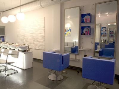 Una peluquer a con decoraci n pop paperblog - Decoracion para peluqueria ...