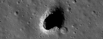 ISRO anuncia descubrimiento de enorme caverna en la Luna