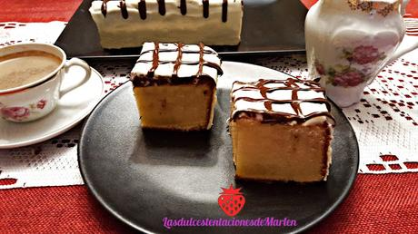Bizcocho de Chocolate Blanco