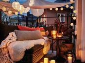 Decoración: diferentes formas iluminar terraza, balcón jardín