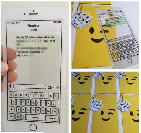 Invitaciones De Emoji Paperblog