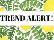 Trend alert!: Estampado limones
