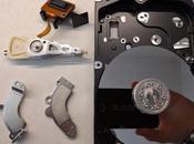 Reciclaje disco duro inservible