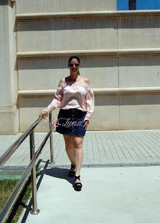 Hola a tod@s!!!Para el look de hoy, llevo una blusa rosa ...