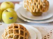 Enrejado hojaldre manzanas asadas Receta