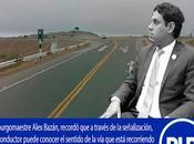 Entre intercambio vial Cerro Azul ingreso Vicente: ALCALDE CAÑETE RECLAMA INMEDIATA SEÑALIZACIÓN MTC…