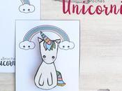 Hecho mano: Broche unicornio.