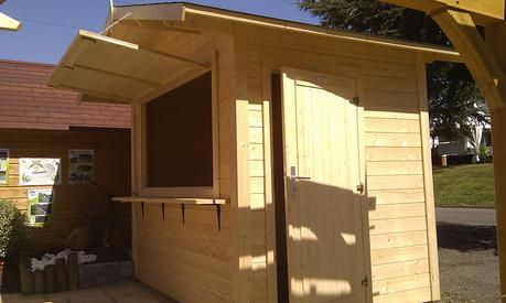 Kiosco de madera Stella- Palmako