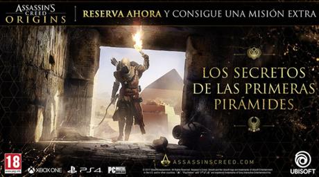 Detallado el contenido de reserva de Assassin's Creed Origins