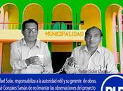Rafael solar amenaza encadenarse frontis municipalidad imperial…