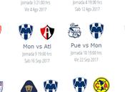 Calendario Rayados para apertura 2017 futbol mexicano