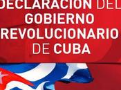 Declaración Gobierno Revolucionario