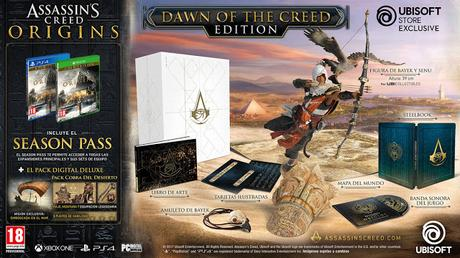Las Ediciones Especiales de Assassin's Creed Origins