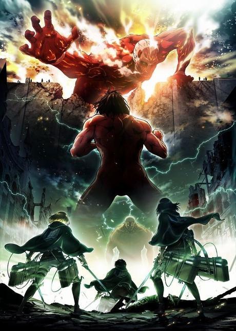 SHINGEKI NO KYOJIN temporada 3 se estrenara el 2018