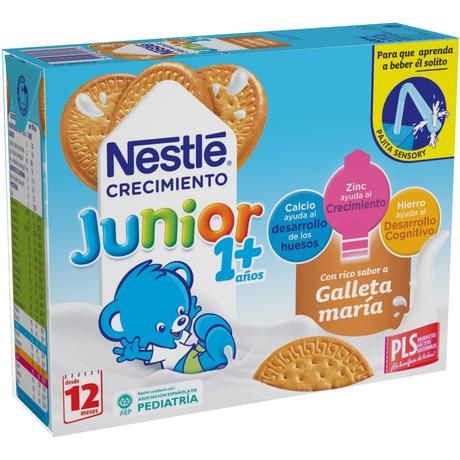 NESTLÉ JUNIOR 1+ GALLETA 3x200ml