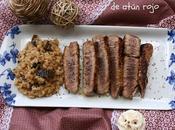 Tataki atún rojo arroz cremoso