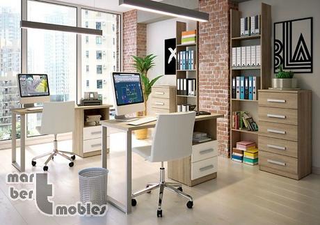 Decoraci n con muebles de despacho despachos peque os - Decorar despacho pequeno ...