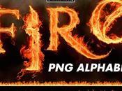 Alfabeto Completo Fuego (Imágenes