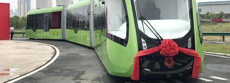 Chinos sorprenden con nuevo vehículo de transporte inteligente