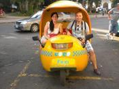 mañana recorriendo Vedado, centro Habana Malecón Coco Taxi