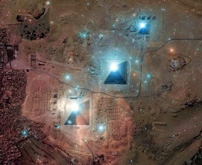 Alnitak, Alnilam, Mintaka. Las estrellas del cinturon de Orión