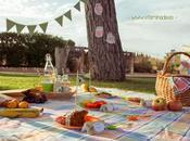 Celebrar picnic familia