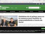 Ayuntamiento Galdakao SECOT Bizkaia firman acuerdo colaboración
