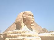 pirámides Giza: escaleras hacia cielo