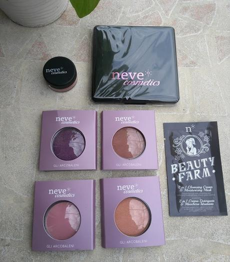 NEVE COSMETICS, REVIEW Y SWATCHES