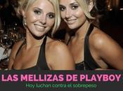 famosas mellizas Playboy, luchan contra sobrepeso