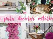 TIPS para decorar TERRAZA BALCÓN