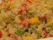 Ensalada quinoa vinagreta pimiento