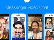 Facebook Messenger agrega emojis, filtros, máscaras para videochats