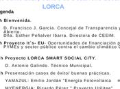 Ecoproyecta participa Jornada Ciudades Inteligentes Empresas Ecoinnovadoras Lorca