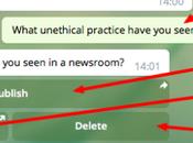 Secretgram, propuesta para recibir contenido fuentes anónimas