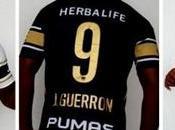 Joffre Guerrón posa nuevo jersey pirata Pumas