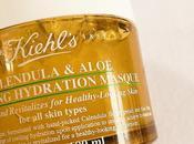 Caléndula Aloe Soothing Hydration Masque Kiehl's, hidratación refrescante.