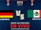 Partido Mexico Alemania VIVO Gratis Internet 29/06/2017